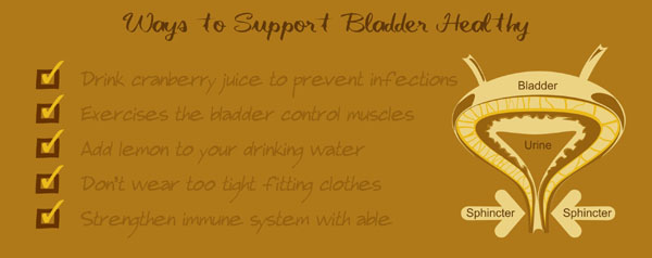 how to prevent bladder disorders, vitamins and supplements for bladder problems, bladder infection, urinary disorder, bladder control issues, incontinence